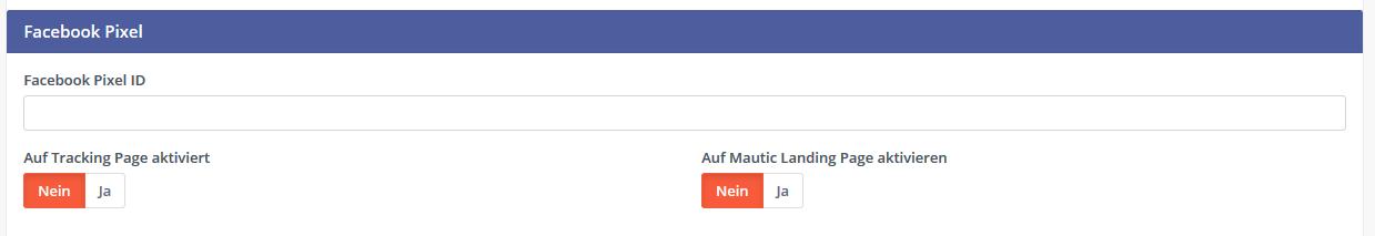 Mautic Facebook Pixel